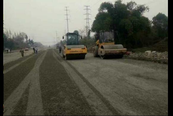 道路工程施工現場2